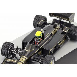 Ayrton Senna Lotus 97T #12 vincitore del GP del Portogallo GP di Formula 1 1985 1/43