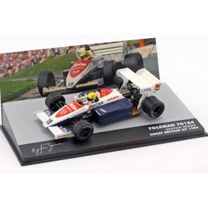Ayrton Senna Toleman TG184 #19 3rd United Kingdom GP Formula 1 1984 1:43