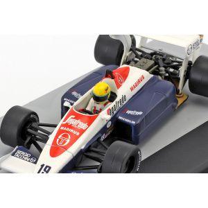 Ayrton Senna Toleman TG184 #19 terzo GP di Gran Bretagna Formula 1 1984 1/43