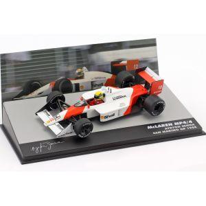 Ayrton Senna McLaren MP4/4 #12 vincitore del GP di San Marino Formula 1 1988 1/43