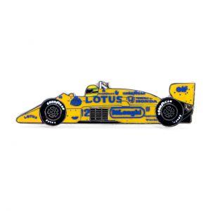 Ayrton Senna Pin Mónaco 1ª Victoria 1987