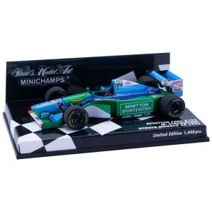 Michael Schumacher Benetton Ford B194 - Vainqueur Monaco GP 1994 1/43