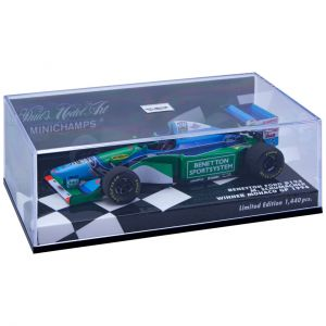Michael Schumacher Benetton Ford B194 - Ganador GP Mónaco 1994 1:43