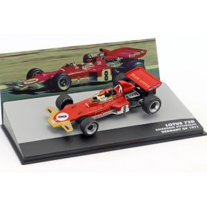 Emerson Fittipaldi Lotus 72D #8 Alemania GP Fórmula 1 1971 1/43