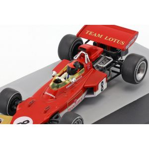 Emerson Fittipaldi Lotus 72D #8 Deutschland GP Formel 1 1971 1:43