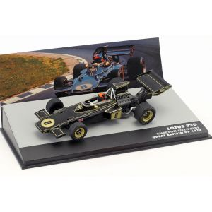 Emerson Fittipaldi Lotus 72D #8 Winner Großbritannien GP Formel 1 1972 1:43