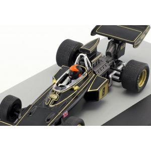 Emerson Fittipaldi Lotus 72D #8 vincitore del Gran Bretagna GP di Formula 1 1972 1/43