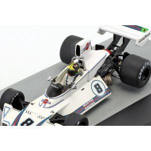 Carlos Pace Brabham BT44B #8 Vainqueur GP Brésil Formule 1 1975 1/43