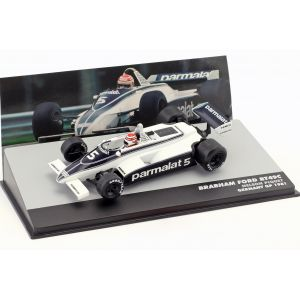 N. Piquet Brabham BT49C #5 World Champion Deutschland GP Formel 1 1981 1:43