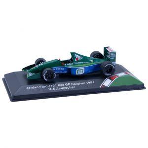 Michael Schumacher Jordan Ford J191 #32 GP Bélgica 1991 1/43