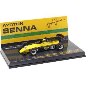 Ford 2000 ChamAyrton Senna Van Diemen RF82 #11 Formule britannique 1982 1/43