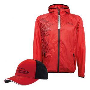 Paquete de productos Michael Schumacher Jacket + Cap Speedline