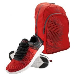 Product package M. Schumacher shoe + backpack Speedline