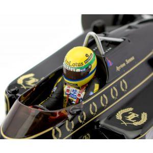 Ayrton Senna Lotus Renault 97T detail
