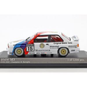 Roberto Ravaglia BMW M3 (E30) #15 Campeón DTM 1989 1/43