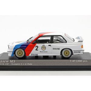 Eric van de Poele BMW M3 (E30) #2 DTM Champion 1987 1/43