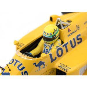 Ayrton Senna Lotus Honda 99T 1987 Minichamps detail