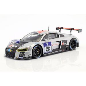 Audi R8 LMS Ultra #28 Ganador 24h Nürburgring 2015 Equipo WRT 1/18