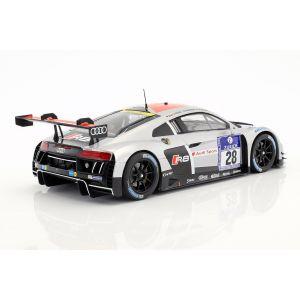 Audi R8 LMS Ultra #28 Vainqueur du 24h Nürburgring 2015 Team WRT 1/18