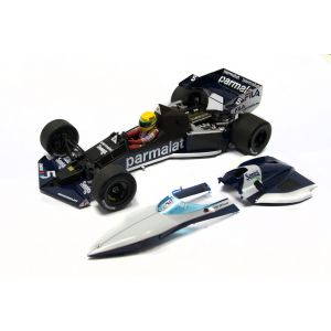 Ayrton Senna - Brabham BMW BT52B 540831899 removeable parts