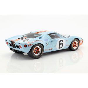 Ickx, Oliver Ford GT40 Mk I #6 Ganador 24h LeMans 1969 1/12
