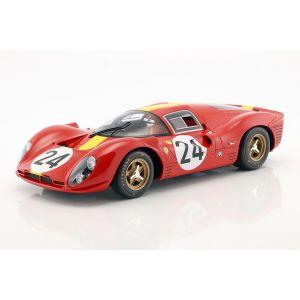 Blaton, Mairesse Ferrari 330 P4 #24 3e 24h LeMans 1967 1/12