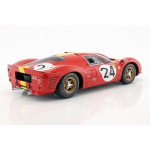 Blaton, Mairesse Ferrari 330 P4 #24 3rd 24h LeMans 1967 1/12