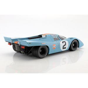 Rodriguez, Kinnunen, Redman Porsche 917K #2 Vainqueur 24h Daytona 1970 1/12
