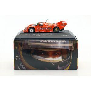 Stefan Bellof Porsche 956B Brun #1 Vainqueur DRM 200 Miles Norisring 1985 1/43