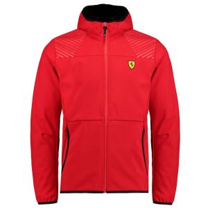 Scuderia Ferrari Softshelljacket red