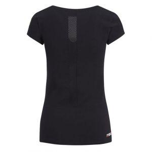 Camiseta mujer Scuderia Ferrari negra