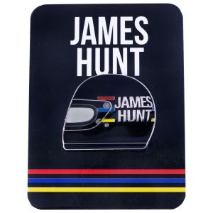 James Hunt Pin casco1976