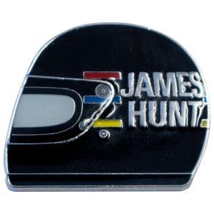 James Hunt Pin casco1976