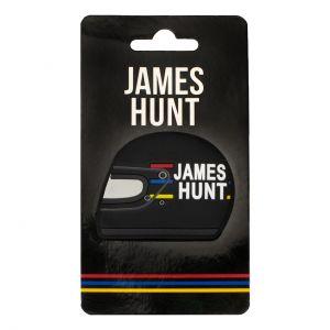 James Hunt Kühlschrankmagnet Helm 1976