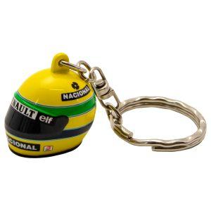 Ayrton Senna 3D key ring helmet 1994