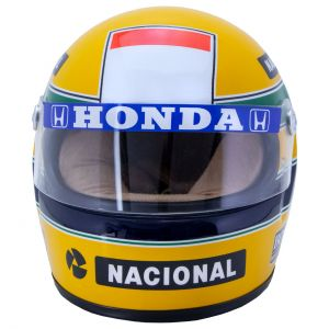 Casque Ayrton Senna 1988 échelle 1/2