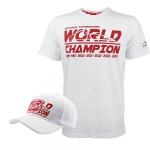 Producto Paquete Michael Schumacher Camiseta y gorra