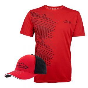 Offre groupée de produits Michael Schumacher Speedline T-Shirt & Casquette