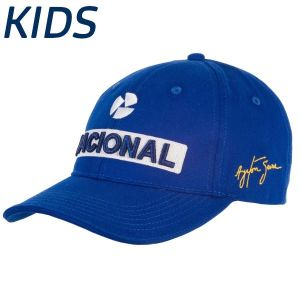 Ayrton Senna National Cap Embroided Kids