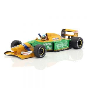 Michael Schumacher Benetton B192 #19 1st GP Victory Spa Formel 1 1992 1:18