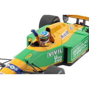 Michael Schumacher Benetton B192 #19 1er GP Victory Spa Fórmula 1 1992 1/18