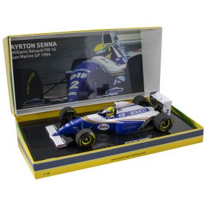 Ayrton Senna Williams FW16 San Marino Grand Prix 1994 1:18