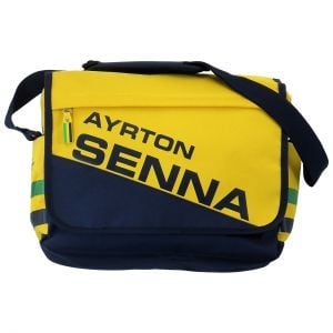 Ayrton Senna Messenger Bag Racing front