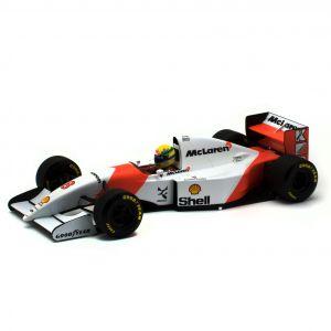 Ayrton Senna McLaren MP4/8 Minichamps 1:18
