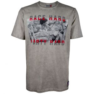 James Hunt Camiseta Race Hard Party Hard