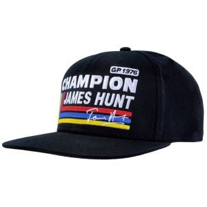 James Hunt Casquette Silverstone