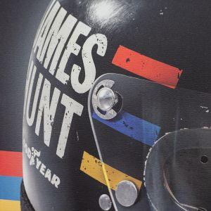 James Hunt - Casque - 1976 - Affiche