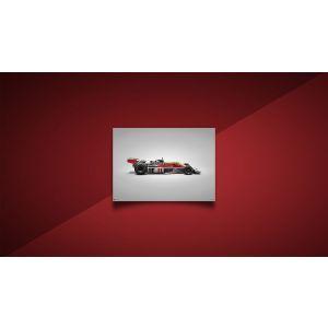 James Hunt - McLaren M23 - GP del Giappone - 1976 - colori della velocità