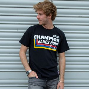 James Hunt Camiseta Silverstone