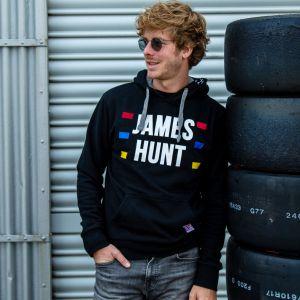 James Hunt Maglione con cappuccio Silverstone
